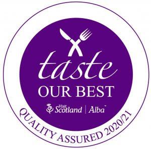 Taste Our Best food award for 2020/21